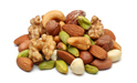 Nuts, Almonds, dry grains